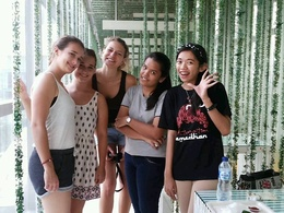 LENA, HANA, ROJANA from Germany in Grand Indonesia