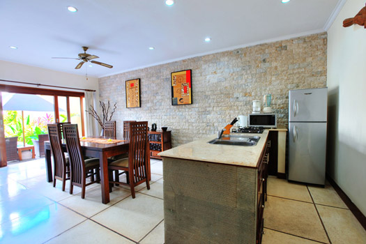 Villa Ultima Kitchen and Dining Room