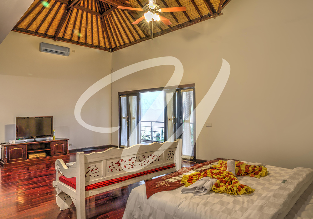 Villa Ultima Bali Masterbed room