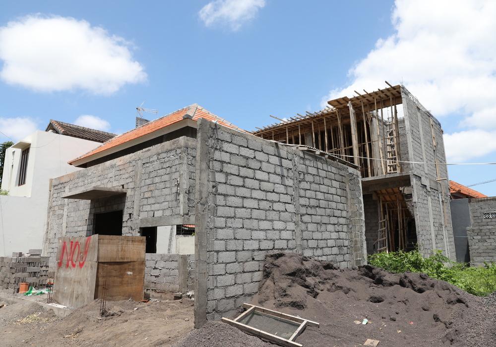 Villa Ultima Bali Construction