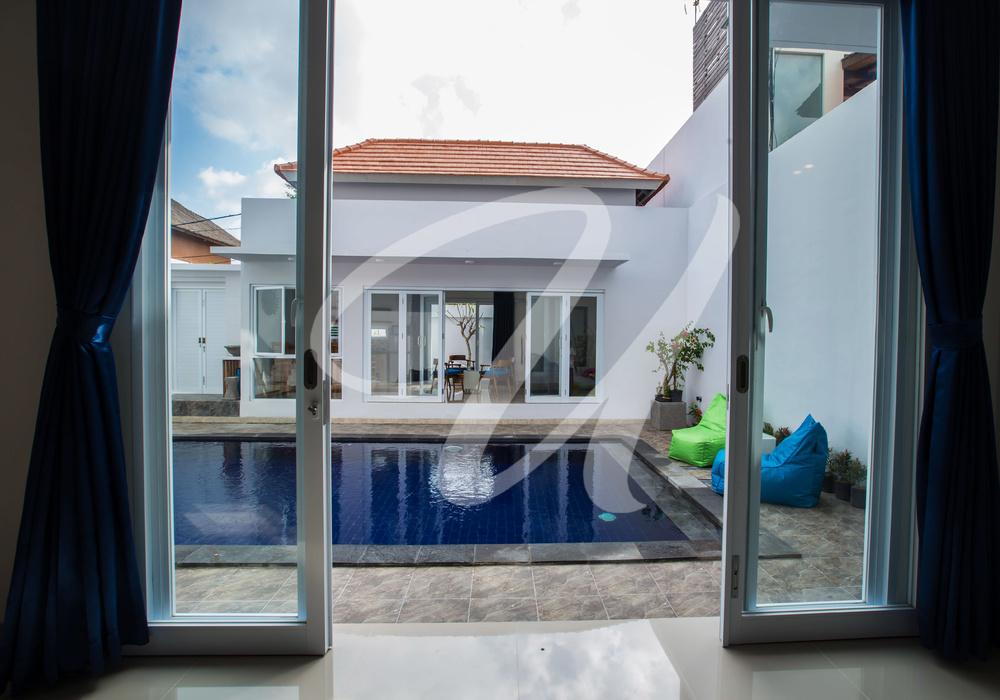 Villa Ultima Bali View from Masterbed Room